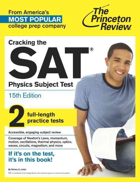 Princeton Review Cracking the Sat Physics Subject Test By Princeton Review (COR)